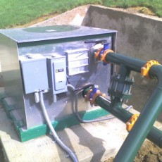 pump station landscapes sport turf